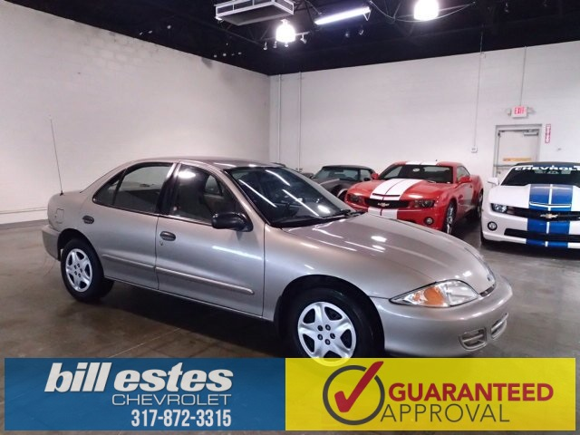 Pre-Owned 2002 Chevrolet Cavalier LS